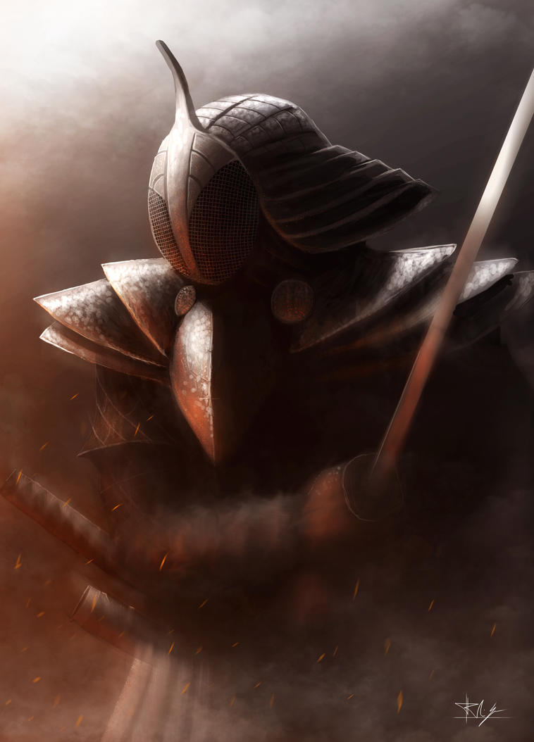 Samurai guy by Nosfer