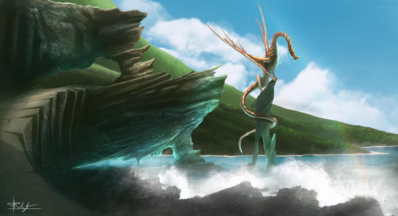 Primal Coast Dragon by Nosfer