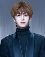 Hyungwon (MONSTA X) by TYV-ART