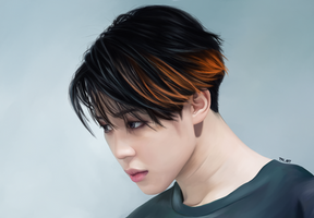 Jimin (BTS) by TYV-ART
