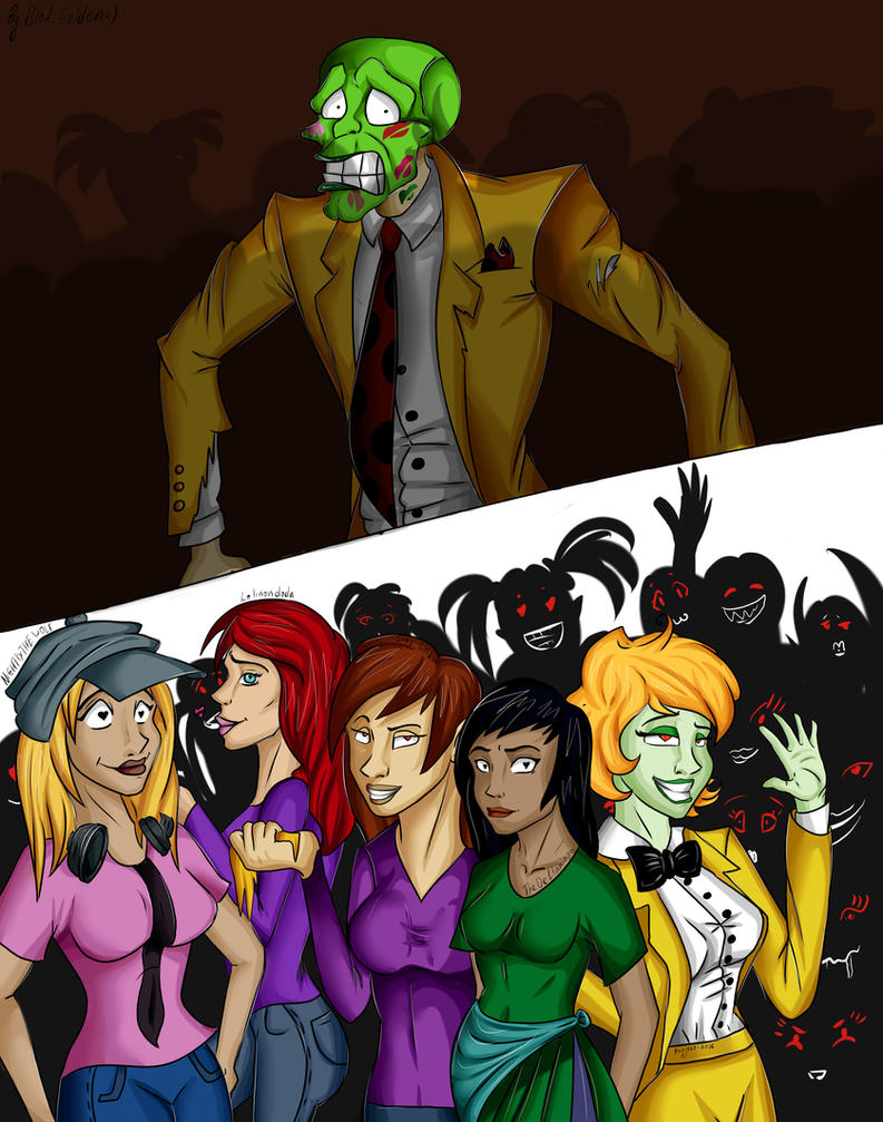 fangirls of the Mask by HelavisKrew