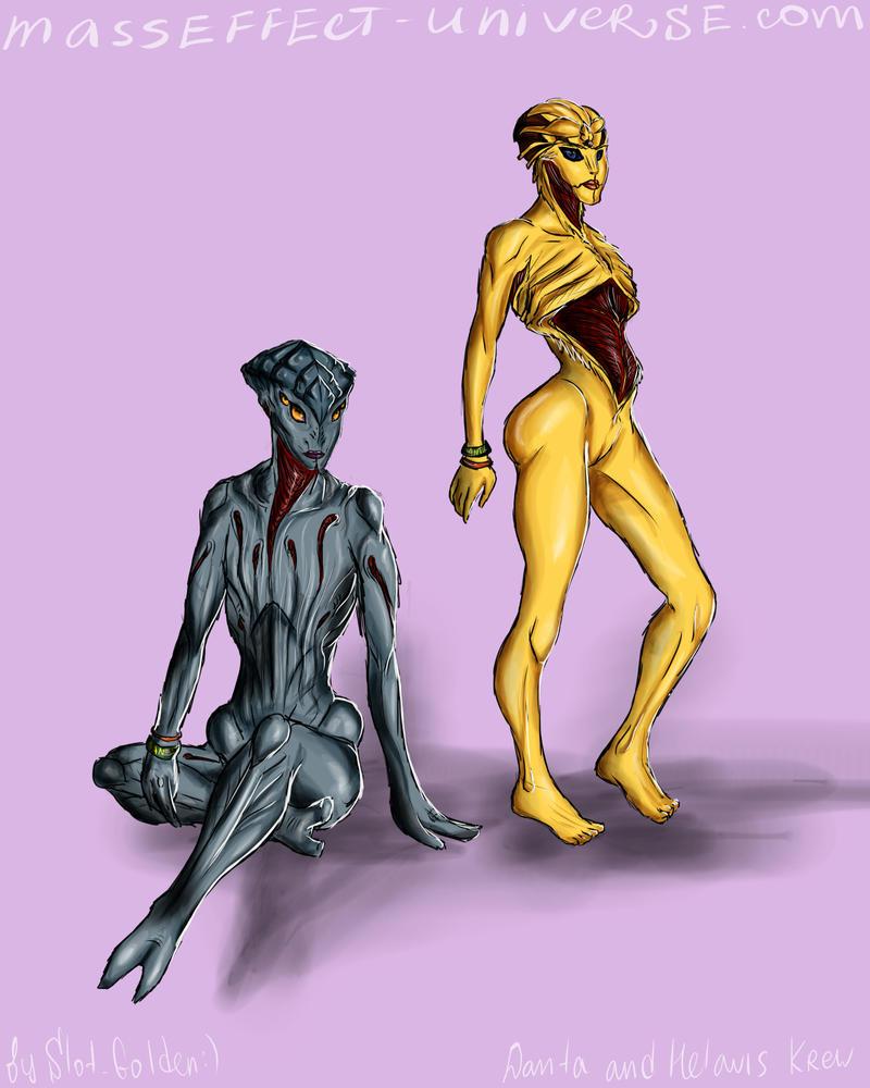 biotic girls by HelavisKrew