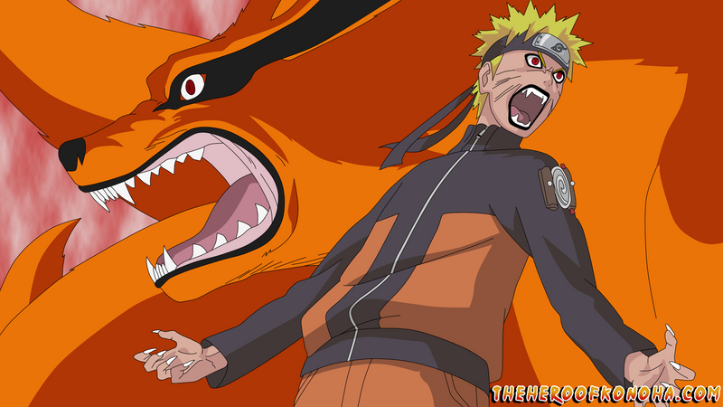 Nine Tails Taking Control Over Naruto by TheHeroOfKonoha on DeviantArt