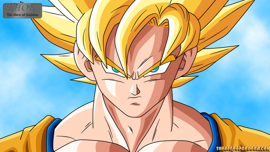 Goku SSJ By TheHeroOfKonoha On DeviantArt
