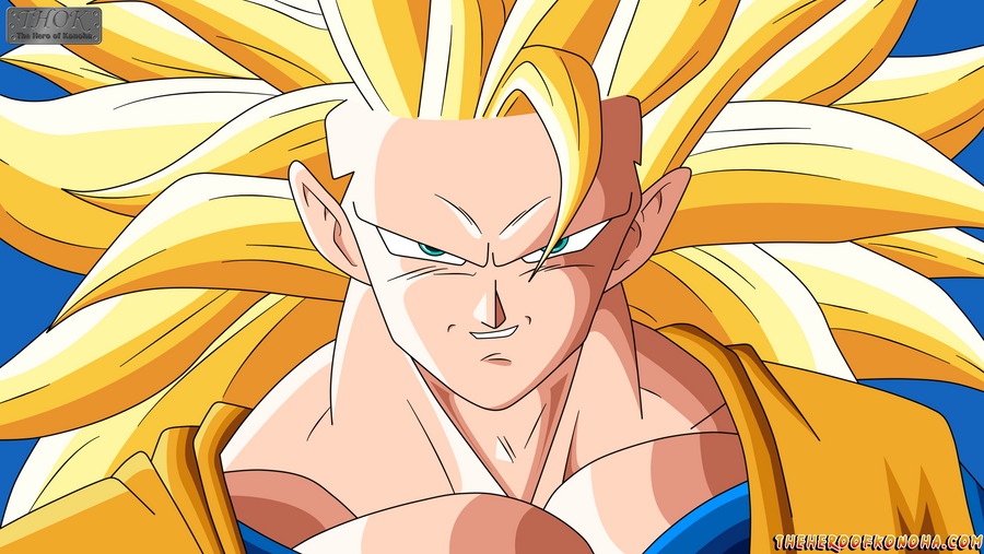 Goku ssj 3 by theheroofkonoha on deviantart - San goku super saiyan 5 ...