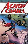 Action comics #1 tribute