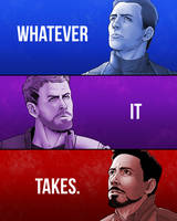 Avengers EndGame - Whatever it takes by IAmNoxArt
