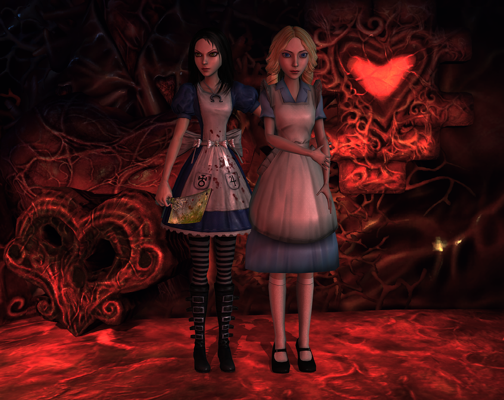 Wonderland has become dark by tombraider4ever
