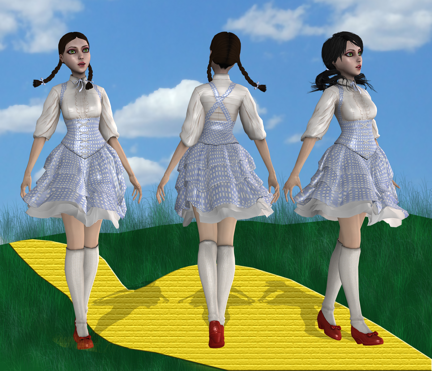 Follow the yellow brick road by tombraider4ever