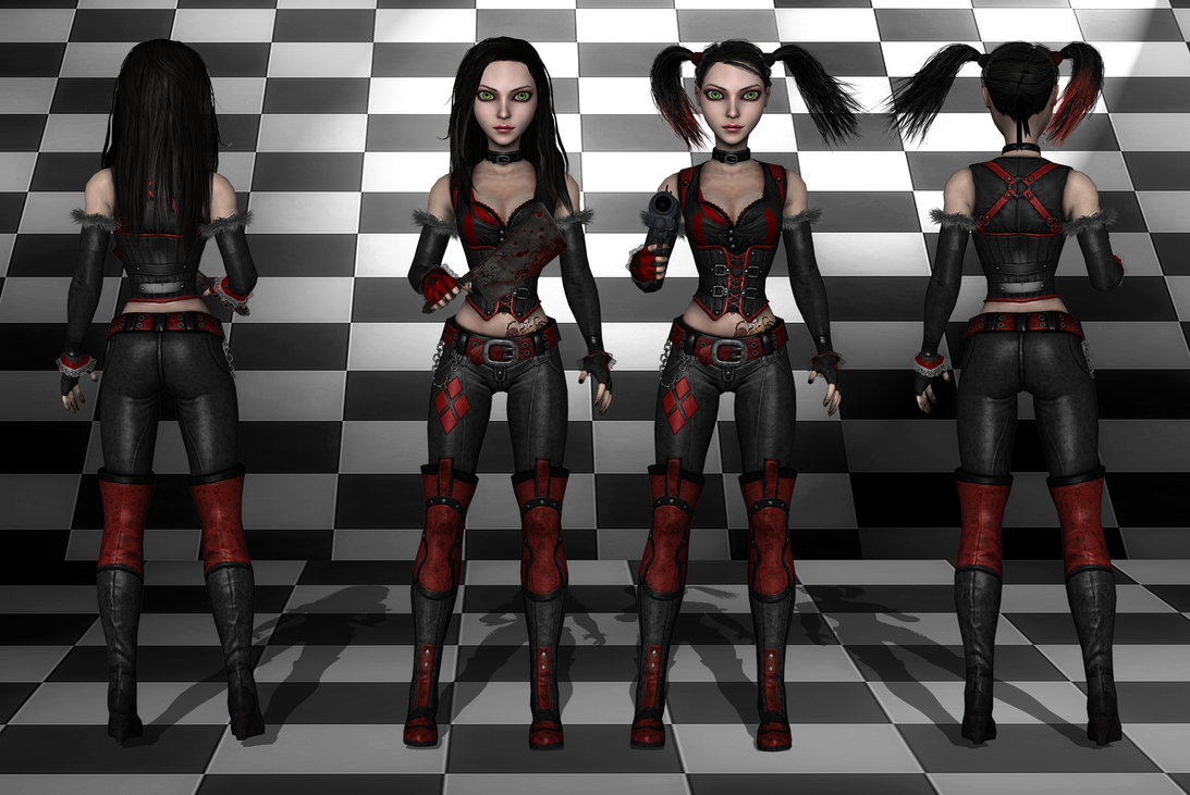 AliceHarleyquinn wip1 by tombraider4ever