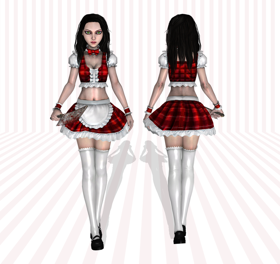 AliceMaid wip1 by tombraider4ever