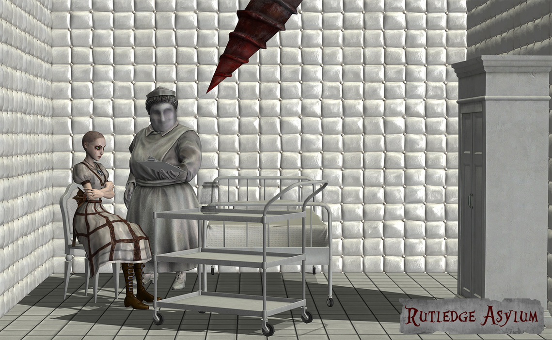 Rutledge Asylum by tombraider4ever
