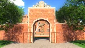 Croft Manor 3, stock image