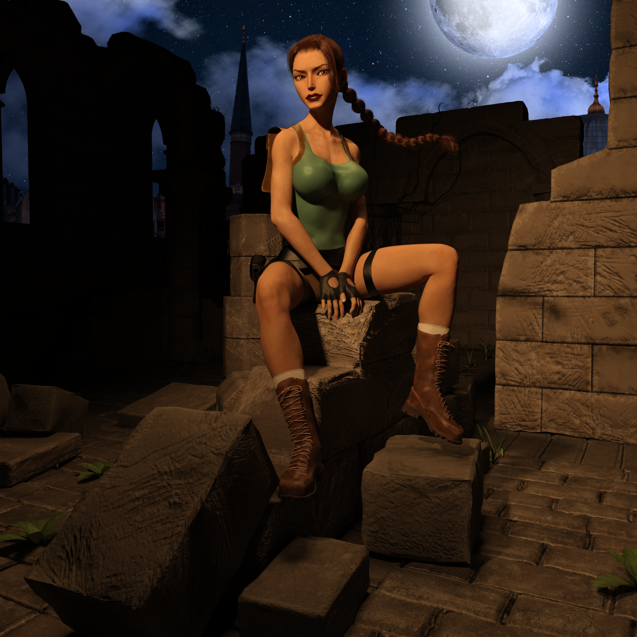 Classic Tomb Raider Wallpaper: Classic Raider 9 By Tombraider4ever On DeviantArt