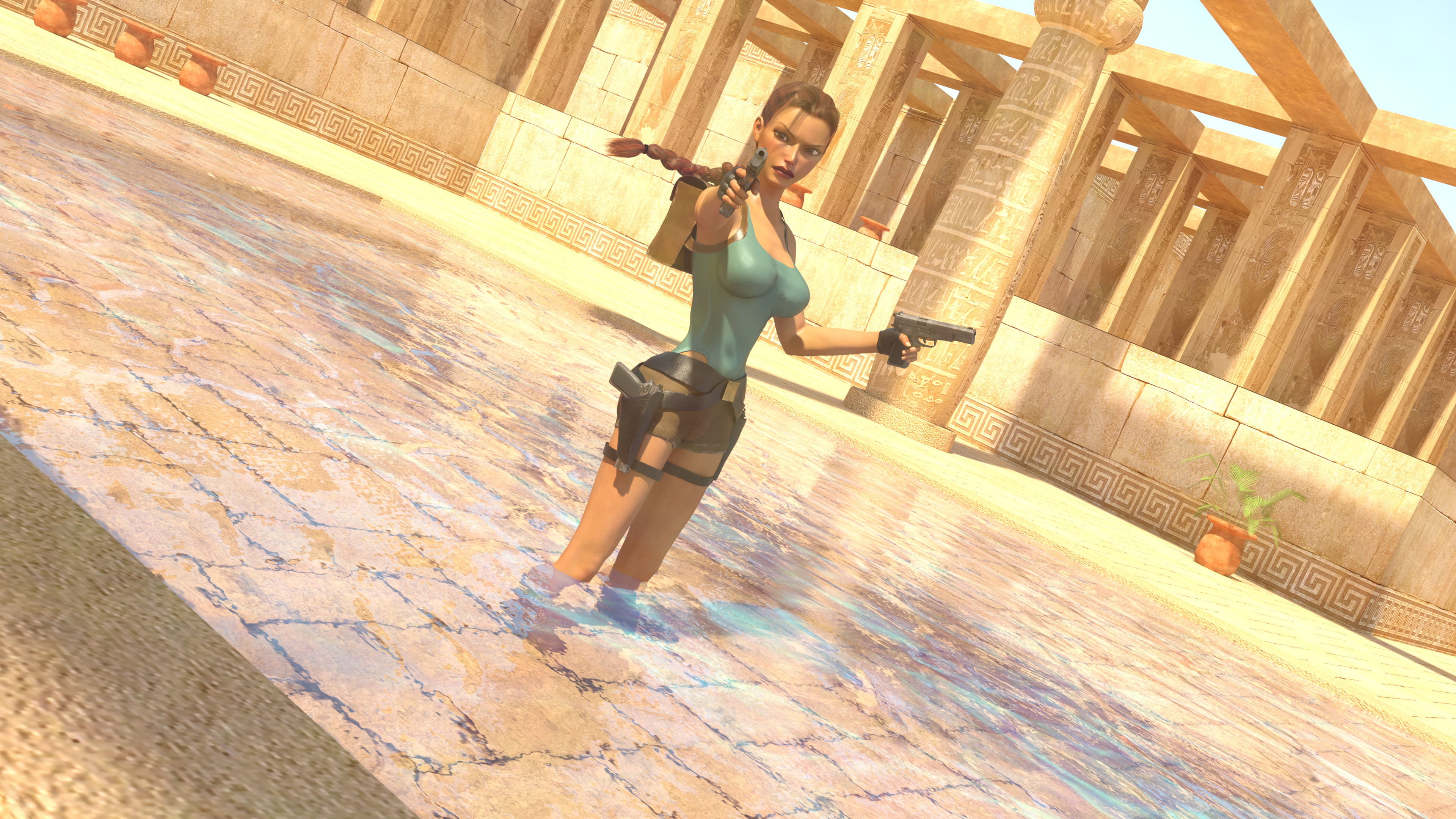 Classic Raider 14 by tombraider4ever