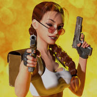 Classic Raider 16 by tombraider4ever
