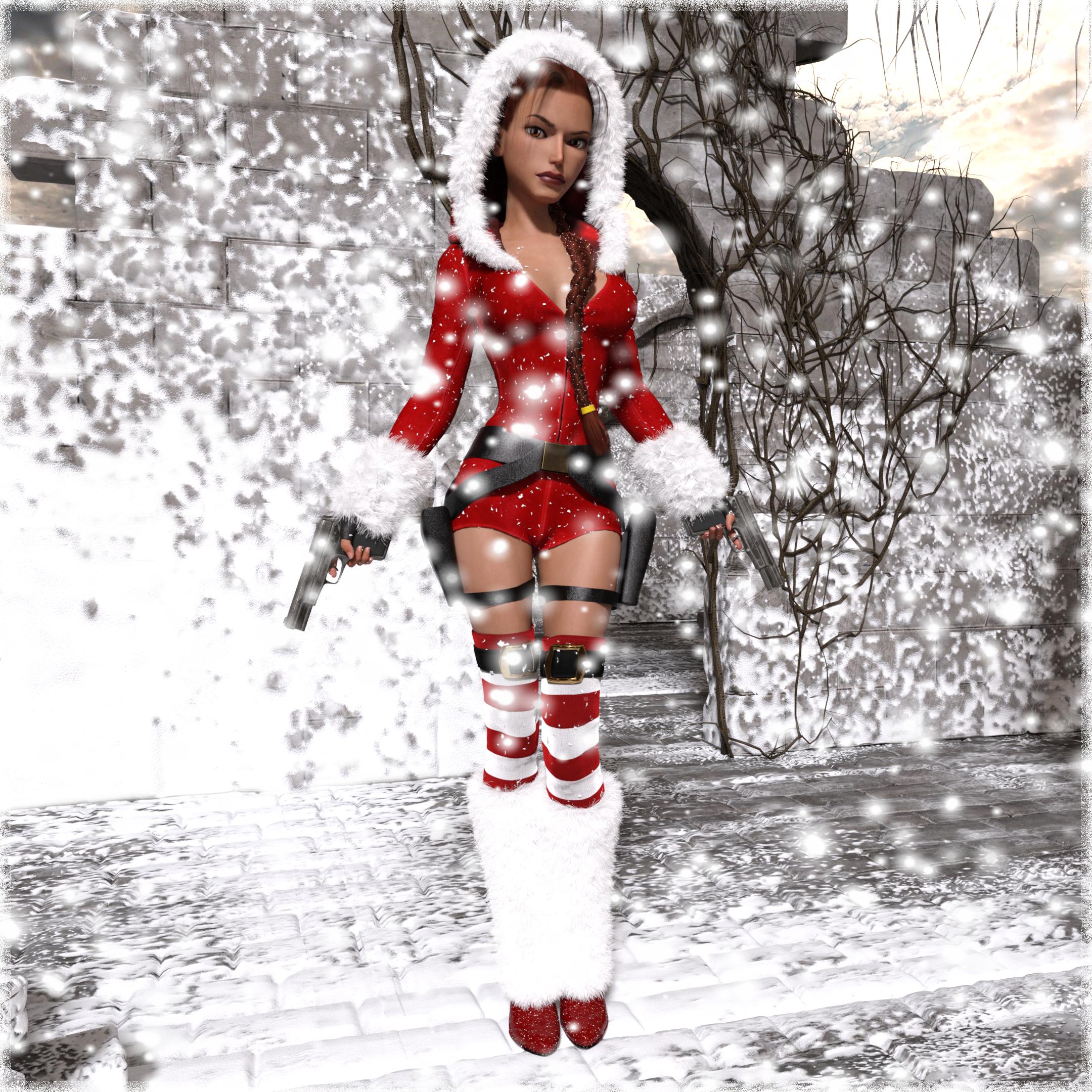Santa Lara by tombraider4ever