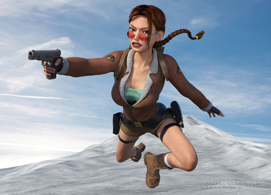 Classic Raider 38 by tombraider4ever