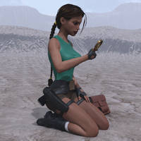 Classic Raider 80 by tombraider4ever