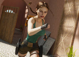 Timed Run by tombraider4ever