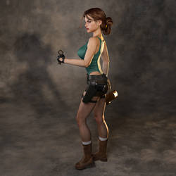 Classic Raider 182 by tombraider4ever