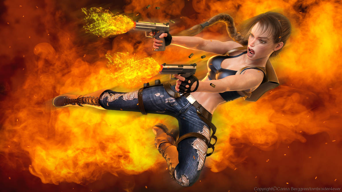 Comics Raider 1 by tombraider4ever