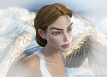 Heavenly Raider  by tombraider4ever