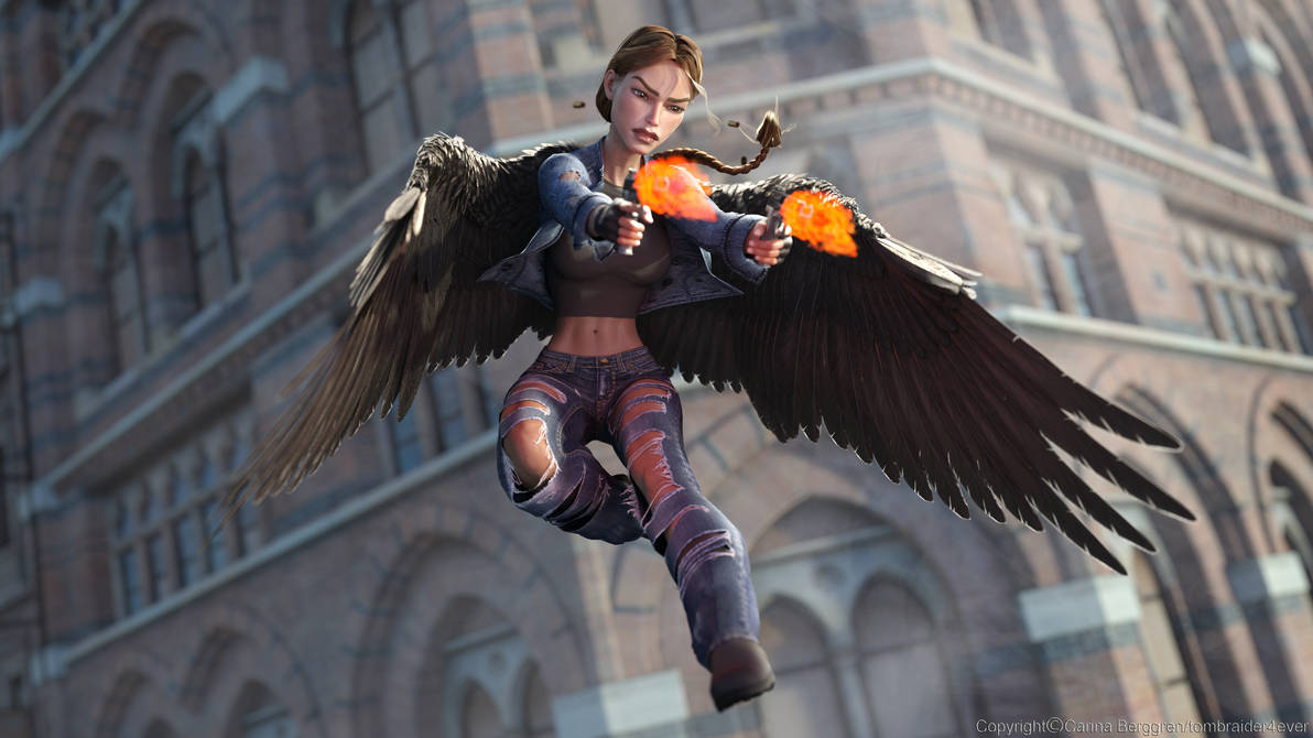 Angel of Darkness 14 by tombraider4ever