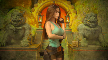 Classic Raider 221 by tombraider4ever