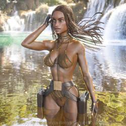 African Lara Bikini