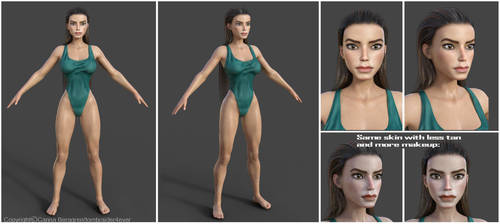New Genesis 8 Fmv Lara wip