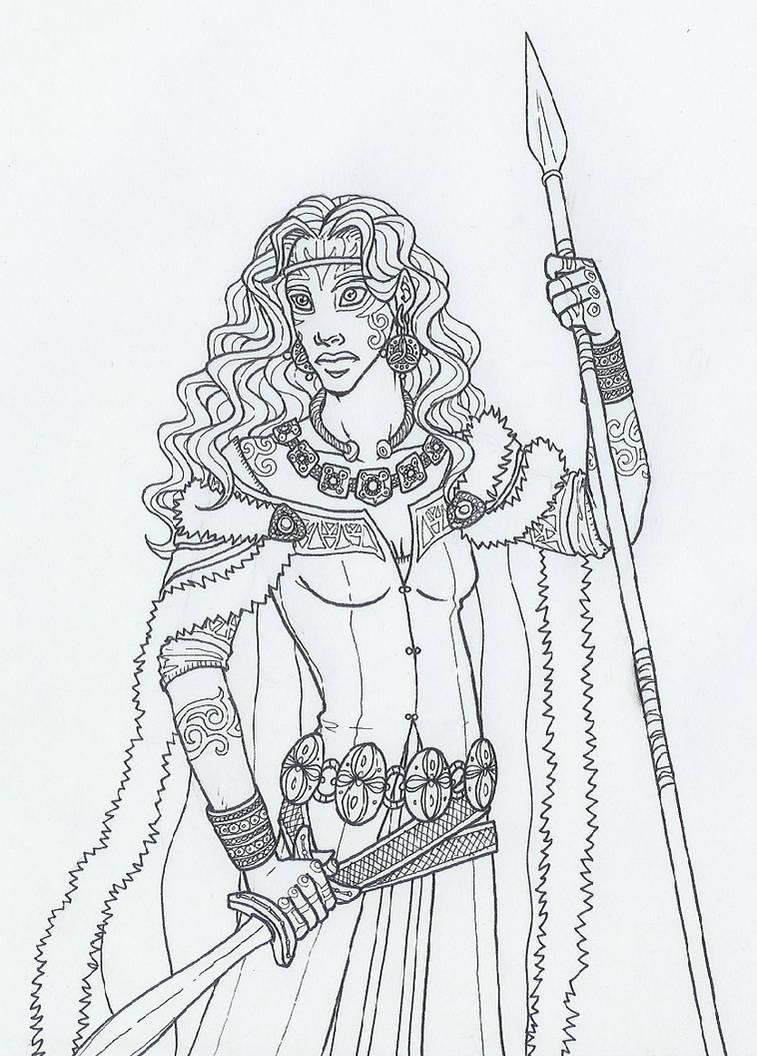 575574766 Queen Boudica of the Iceni by KidaGreenleaf on DeviantArt