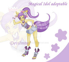 Adopt Auction - Magical Idol by devilmon20