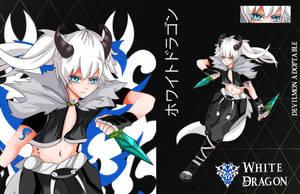 (Open) Adopt Auction - White Dragon by devilmon20