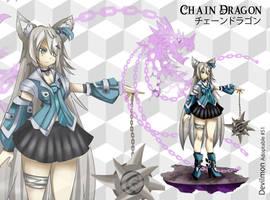 (Open) Adopt Auction - Chain Dragon by devilmon20
