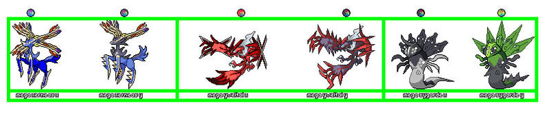 Xerneas Yveltal and Zygarde Mega evolutions by ... Xerneas Yveltal Zygarde Wallpaper