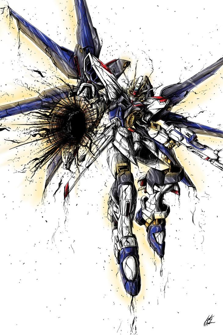 Gundam by almightyminiman