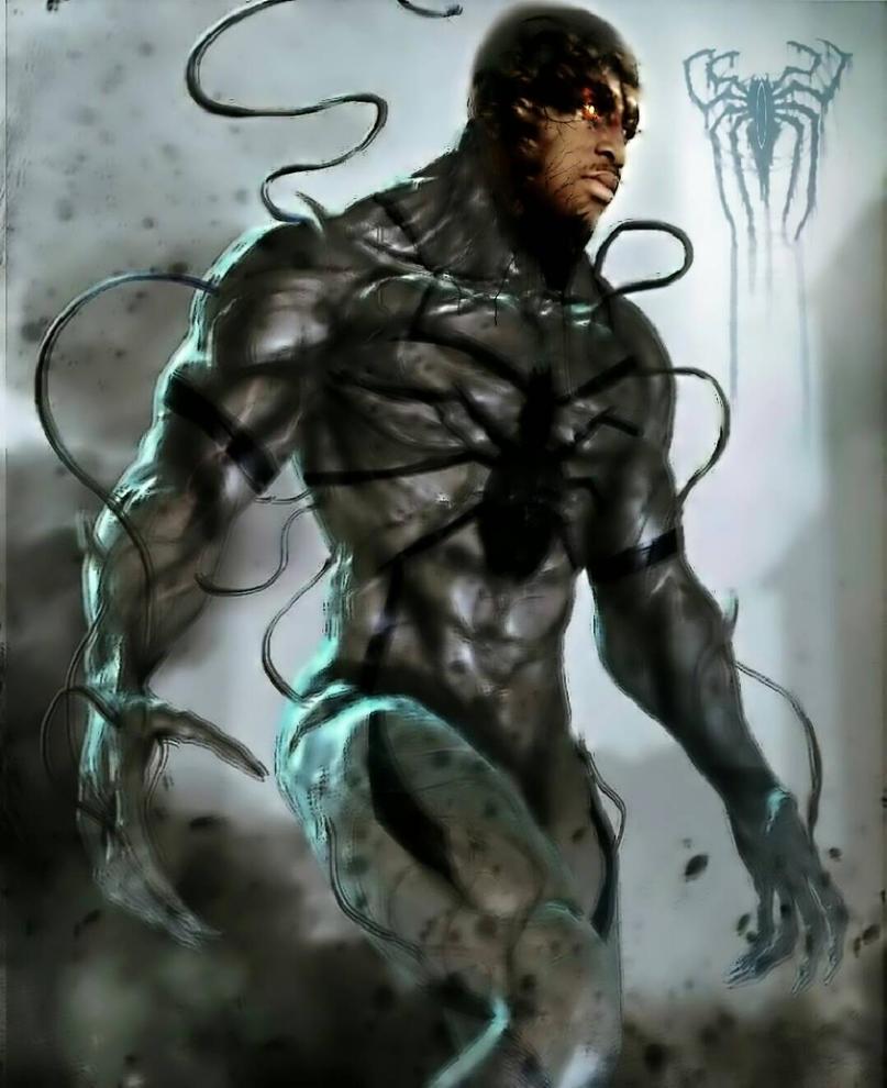 Black Anti-Venom by Ch3apArtz2500