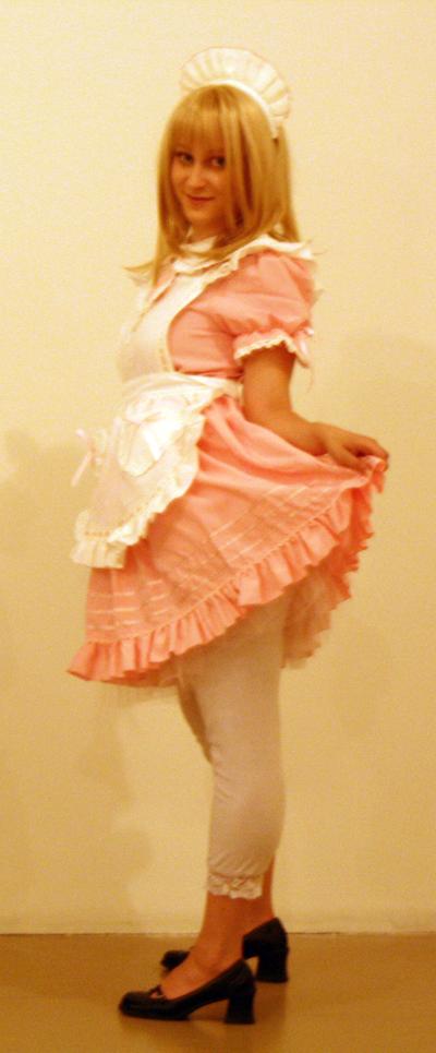 French Maid Stock II by EnchantedCupcake