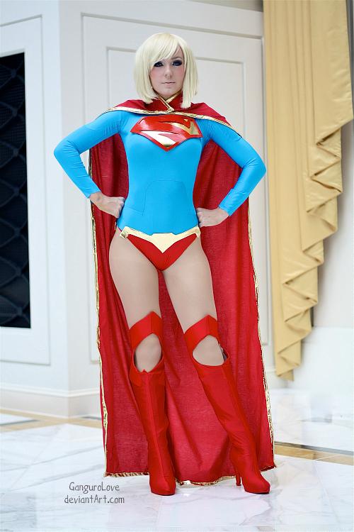 Jessica Nigri as Supergirl - New 52 Version by EnchantedCupcake on ...