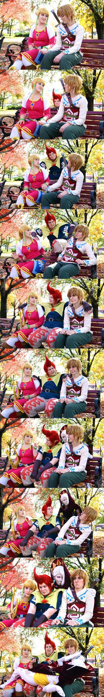 A Not So Zelda Date by EnchantedCupcake