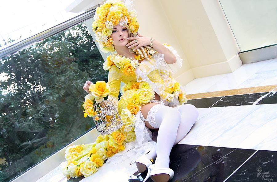 Yellow Rose I by EnchantedCupcake