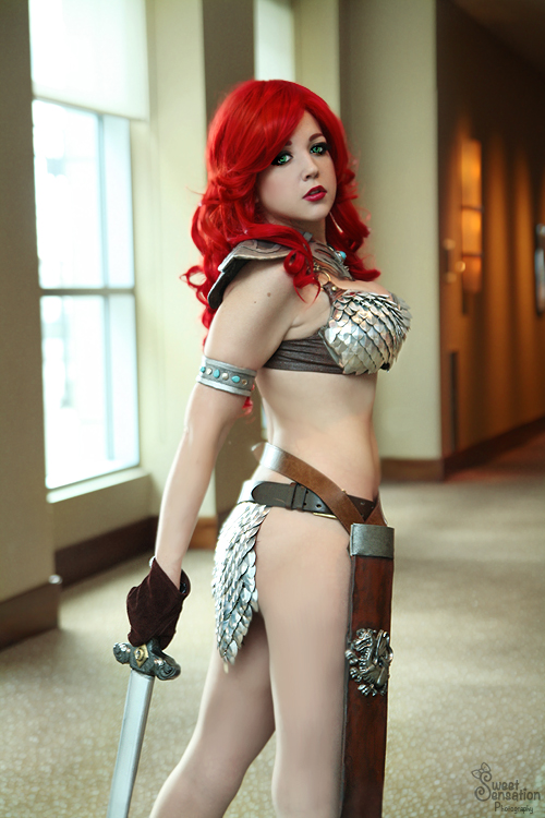 Red Sonja I by EnchantedCupcake