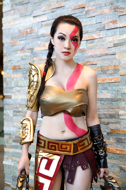 Fem. Kratos by EnchantedCupcake