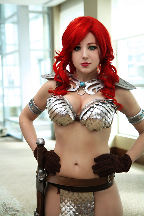 Red Sonja II by EnchantedCupcake