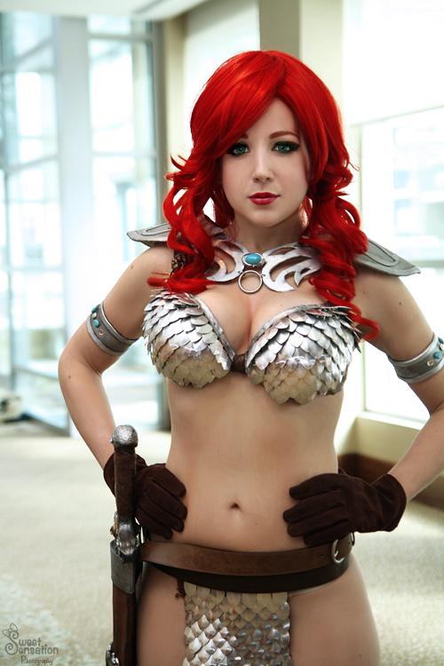 Red Sonja II by EnchantedCupcake