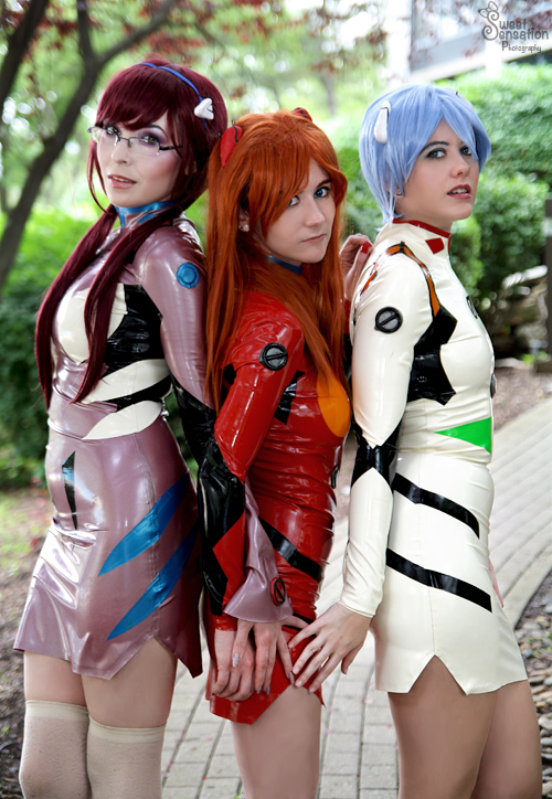 Latex Coated Eva Girls by EnchantedCupcake
