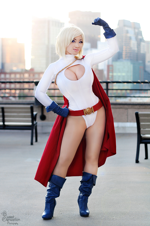 Power Girl I by EnchantedCupcake