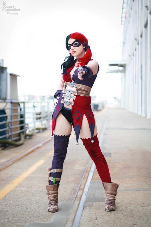 Harley Quinn II by EnchantedCupcake