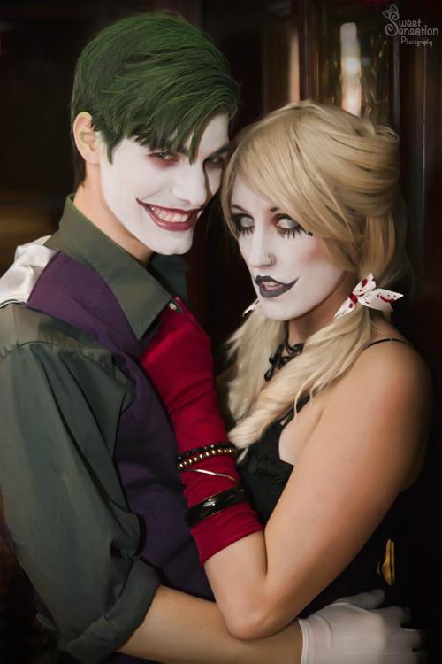 Joker x Harley I by EnchantedCupcake